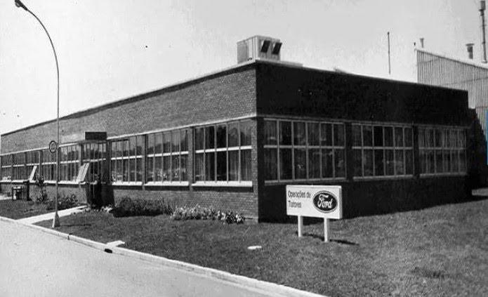 Fábrica de tratores da Ford em São Bernardo do Campo, em 1976 — Foto: Divulgação