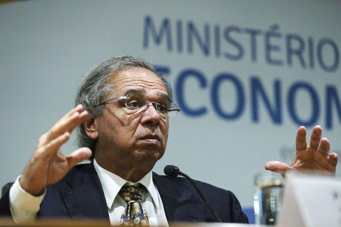 O ministro da Economia, Paulo Guedes  — Foto: José Cruz/Agência Brasil