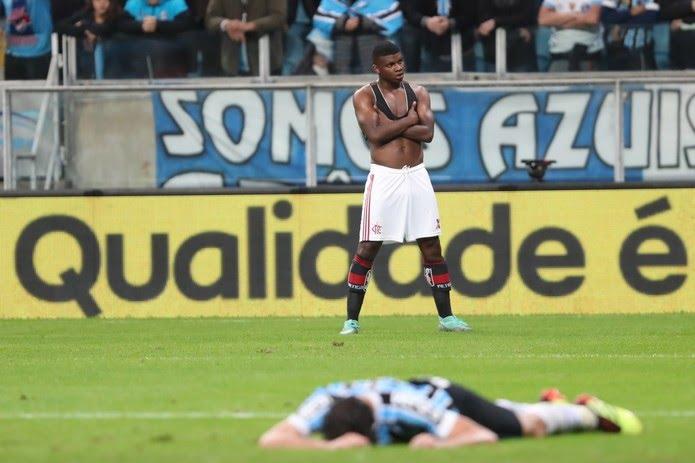 Gol, Lincoln, Grêmio x Flamengo (Foto: Gilvan de Souza/Flamengo)
