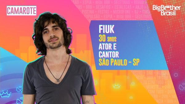Fiuk, BBB21 — Foto: Globo