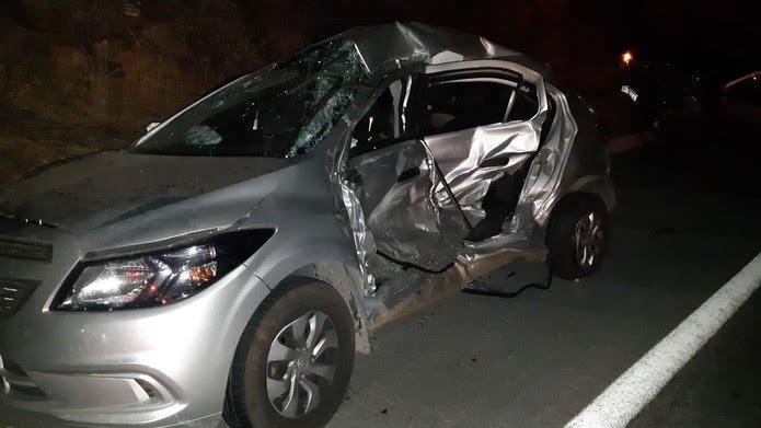 Vítima tinha 47 anos e fazia trajeto no sentido de Mossoró para Natal — Foto: Divulgação/PRF