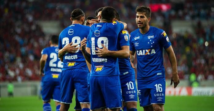 Conjunto do Cruzeiro foi o destaque na vitória sobre o Flamengo (Foto: Bruno Haddad/Cruzeiro)