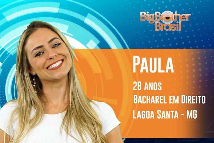 Paula, participante do 'BBB19' — Foto: Divulgação