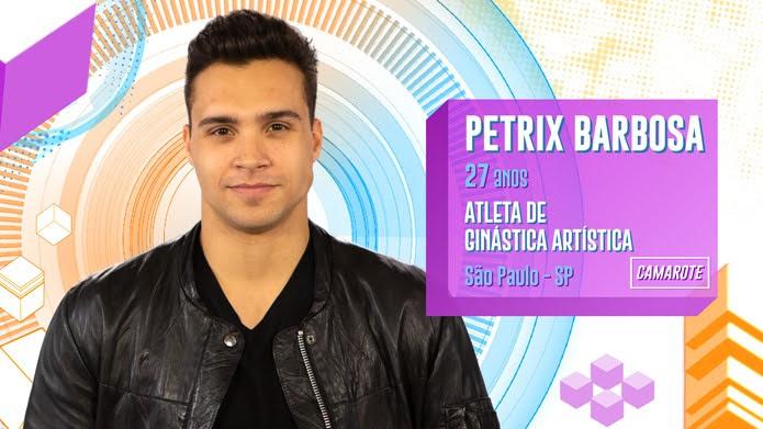 Petrix Barbosa é participante do BBB20 — Foto: Globo