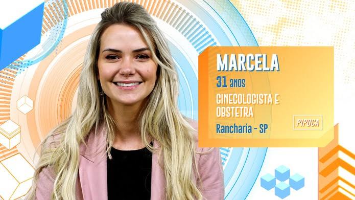 Marcela é participante do BBB20 — Foto: Globo