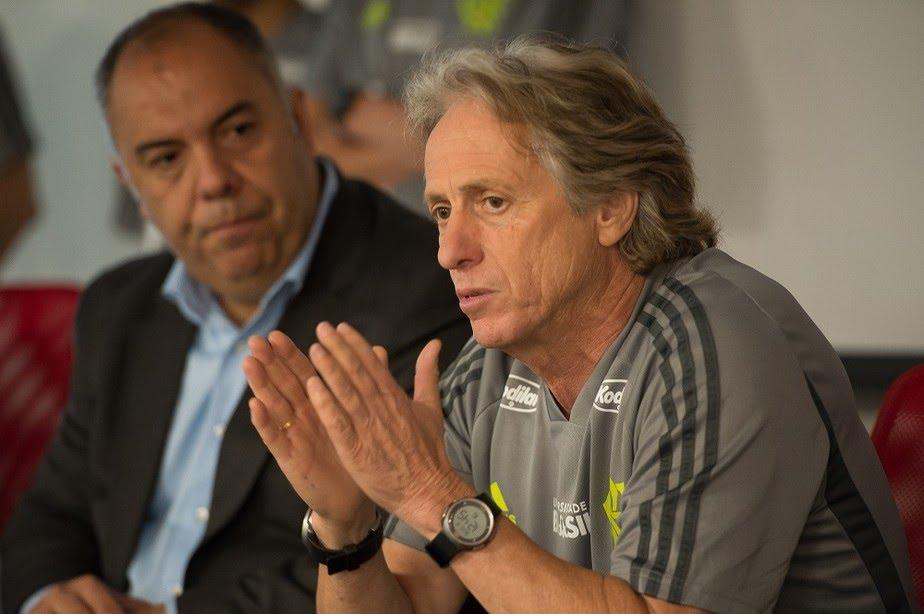 Muito prazer, Jorge Jesus! Técnico tem primeiro contato com elenco e inicia os trabalhos no Flamengo