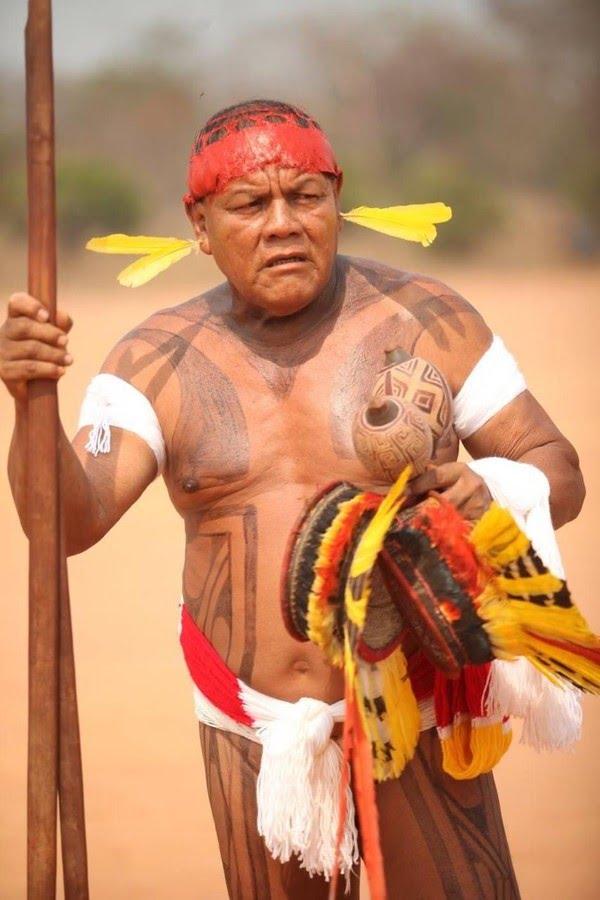 Aritana Yawalapiti, líder do Alto Xingu — Foto: Antônio Carlos Banavita