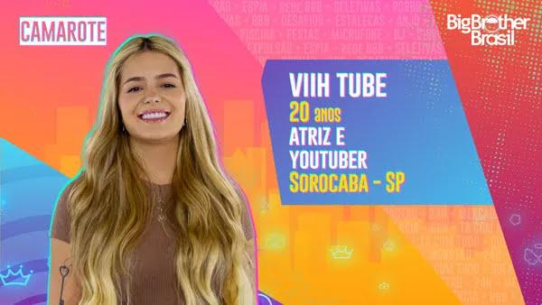 Viih Tube, BBB21 — Foto: Globo