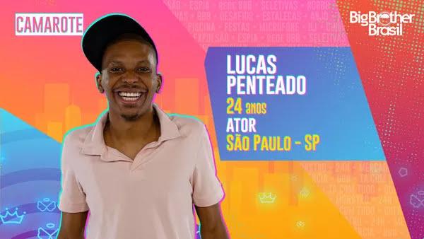 Lucas Penteado, BBB21 — Foto: Globo