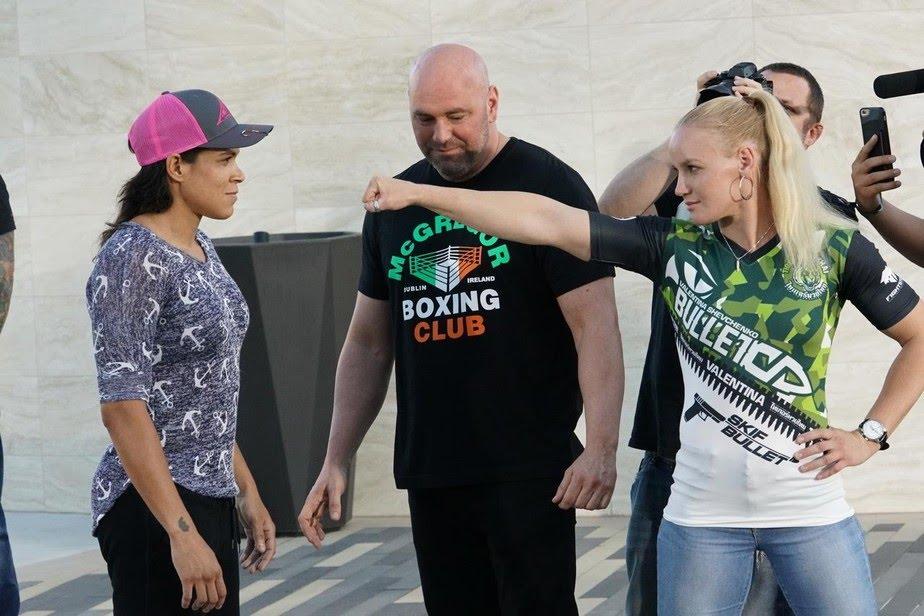 """Valentina Shevchenko afasta lutas contra Jéssica e Amanda Nunes: """"Focada na minha categoria"""""""