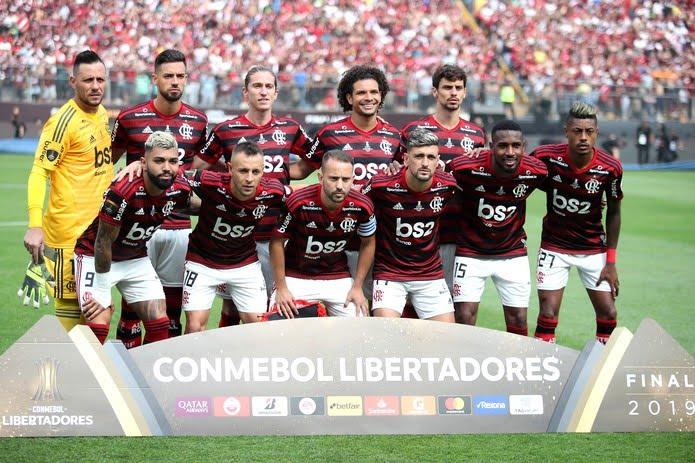 Flamengo foi campeão da Libertadores e se classificou para o Mundial de clubes em dezembro no Catar — Foto: Getty Images
