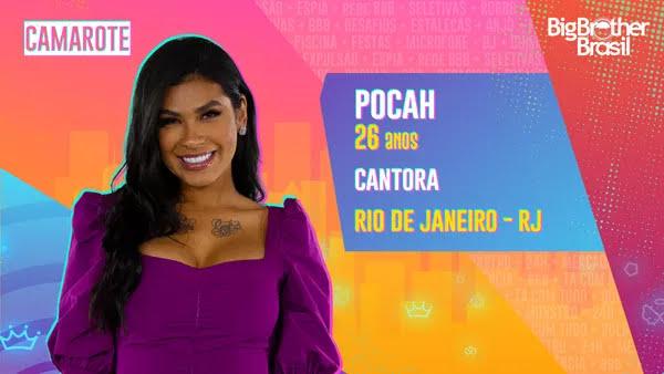 Pocah, BBB21 — Foto: Globo
