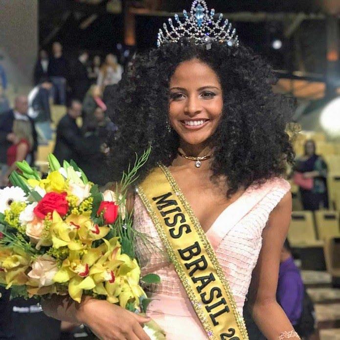 A candidata do estado do Piauí, Monalysa Alcântara, é a Miss Brasil 2017