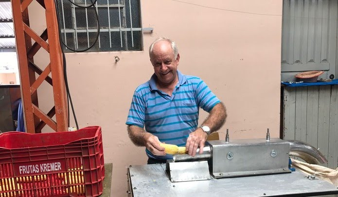 Orestes Gomes era um dos responsáveis pela tradicional Festa do Milho em Botucatu — Foto: Acontece Botucatu/Divulgação