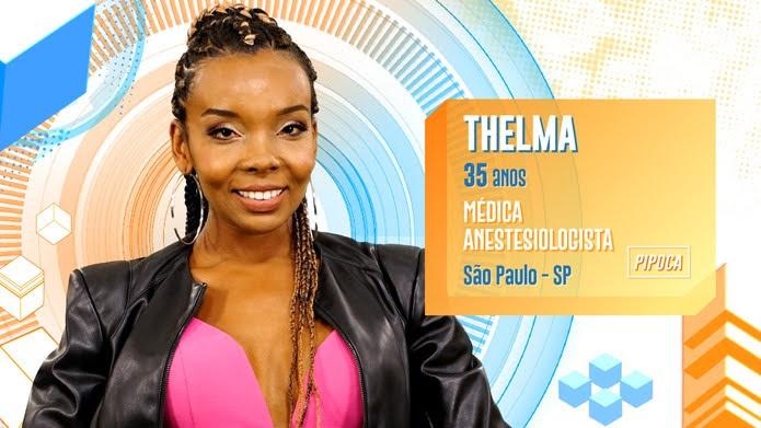 Thelma é participante do BBB20 — Foto: Globo