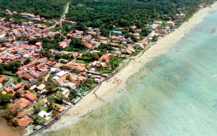 Acidente ocorreu em Mar Grande, a cerca de 200 metros da costa