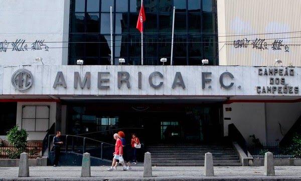 Sede do America será leiloada no Rio de Janeiro — Foto: Divulgação