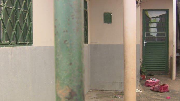 Partes do corpo de menino de 9 anos assassinado em Samambaia foram escondidas em mochilas — Foto: TV Globo/Reprodução