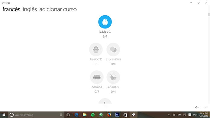 Programas para Windows 10 Duolingo