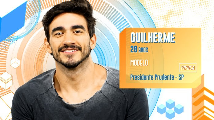 Guilherme é participante do BBB20 — Foto: Globo