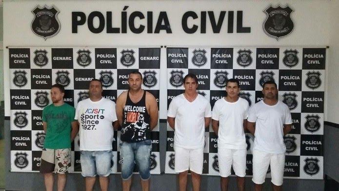 Seis suspeitos de integrar grupo foram detidos na Operação Corsários do Asfalto
