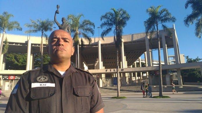 Major Ivan Blaz comentou as confusões em São Januário