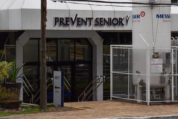 Hospital da Prevent Senior, na Zona Sul de São Paulo — Foto: Roberto Casimiro/Fotoarena/Estadão Conteúdo