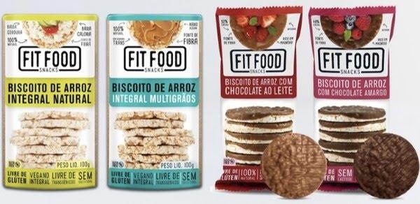 Linha da Fit Food será primeira marca de snakcs saudáveis da M.Dias Branco — Foto: Reprodução