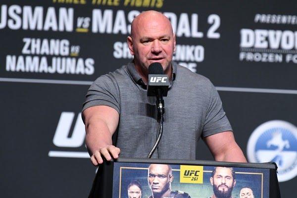 Dana White promete expandir o UFC pela África — Foto: Getty Images