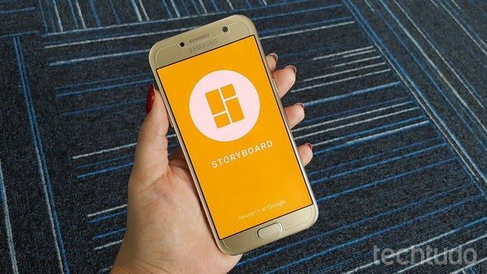 Storyboard é um dos novos aplicativos do Google para edição de imagens