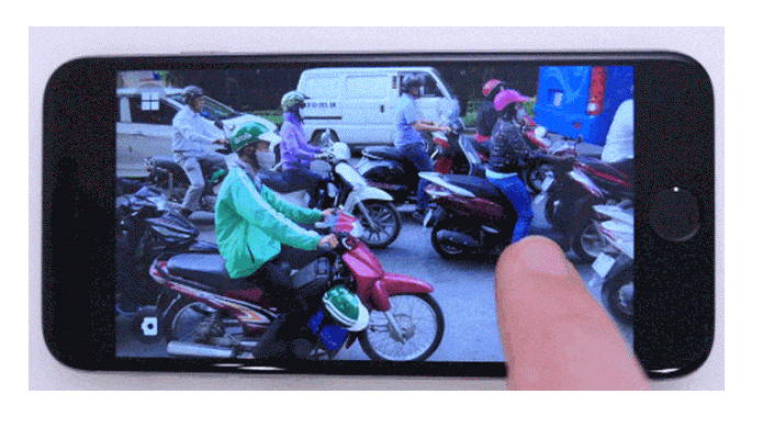 Scrubbies cria vídeos em loop