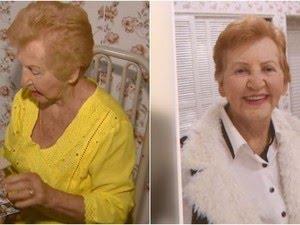A pensionista Nena Queiroz  (Foto: Eder Ribeiro/ EPTV)