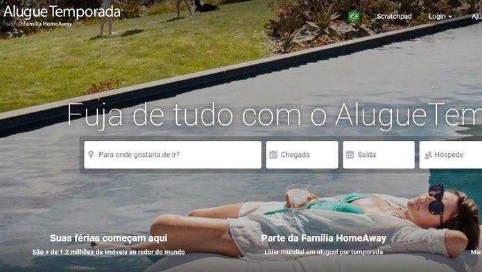 AlugueTemporada faz parte da Família HomeAway, que agrega mais de 1 milhão de imóveis (Foto: Reprodução/Clara Barreto)
