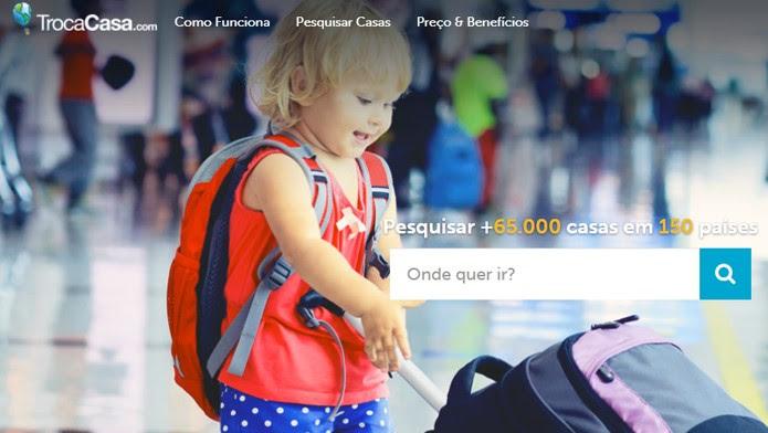 TrocaCasa é a versão em português do site de troca de casas HomeExchange (Foto: Reprodução/Clara Barreto)