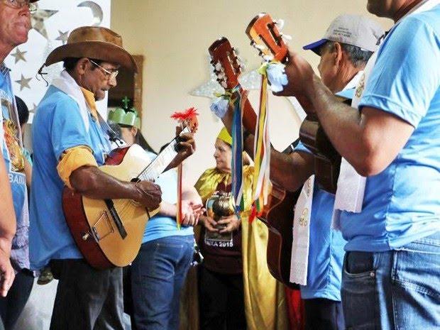 Uberaba tem o maior número de Folia de Reis (Foto: Fundação Cultural de Uberaba/Divulgação )