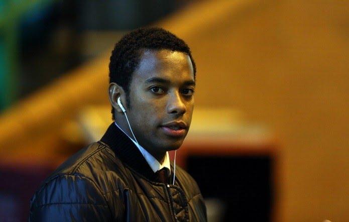 Robinho é acusado de estupro na Itália (Foto: MacNicol/AFP/Getty Images)