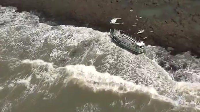 Acidente aconteceu por volta das 6h30, 10 minutos após embarcação deixar o terminal de Mar Grande